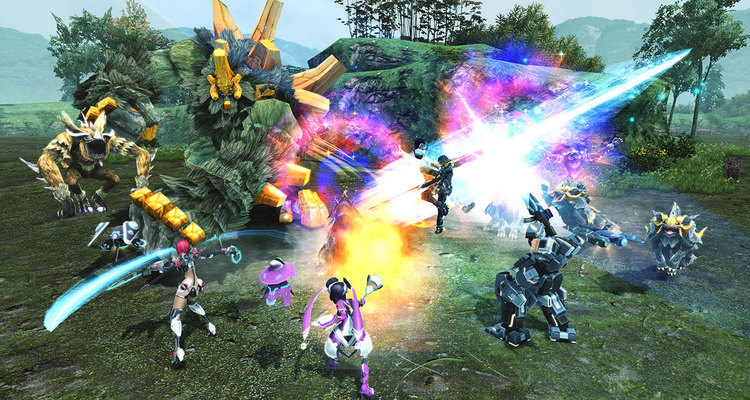 Phantasy Star Online 2 Battle