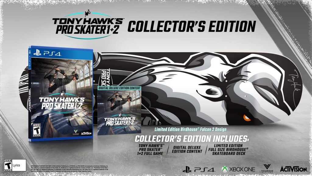 Tony Hawk's Pro Skater 1 and 2 Collector's Edition