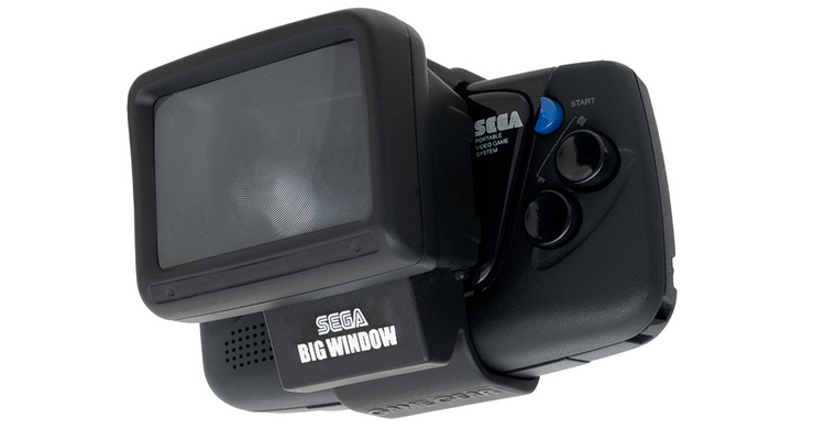 Sega Game Gear Micro Big Window